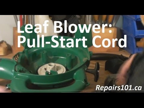 Leaf Blower : Pull-Start Cord
