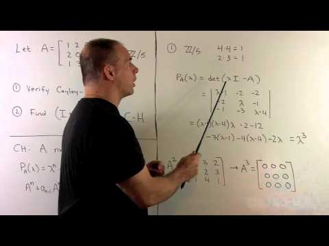 Cayley-Hamilton Theorem Example 2