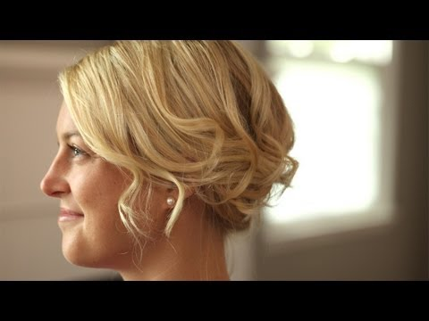 Short Hair Romantic Up-Do: How To Create It || Kin Beauty
