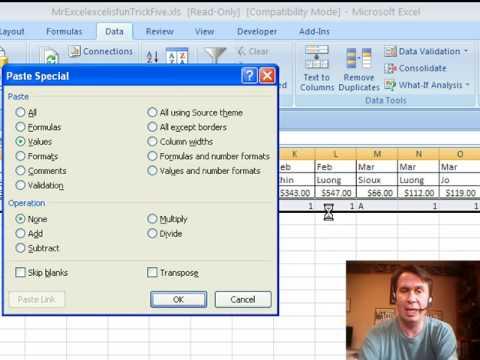 Mr Excel & excelisfun Trick #5: Horizontal Subtotals