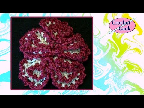 Crochet Geek - Crochet  Spherical Flower