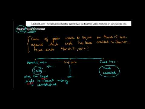 1083. Revenue Recognition Concept