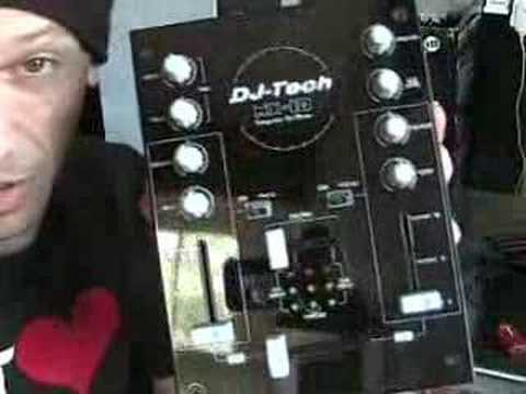 A look at the DJ-Tech Mix Control 10