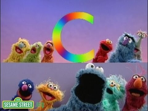 Sesame Street: C Is for Cookie #2 with Cookie Monster