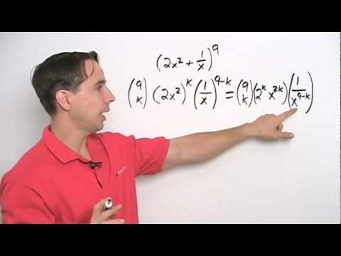 Art of Problem Solving: Using the Binomial Theorem Part 3
