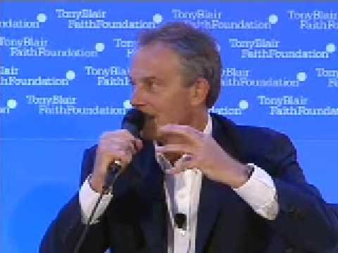 Shaykh Hamza Yusuf & Tony Blair Faith Foundation 6/8