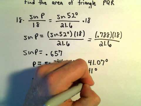 Heron's Formula, Example 3