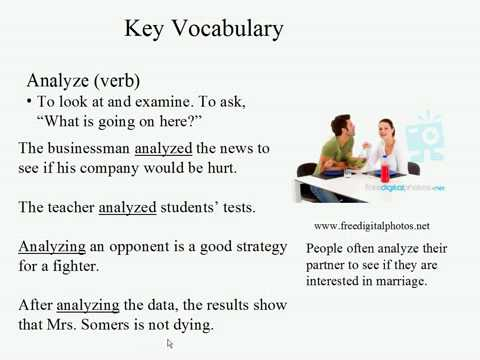 Live Intermediate English Lesson 10: Mental Power 7: Analyze
