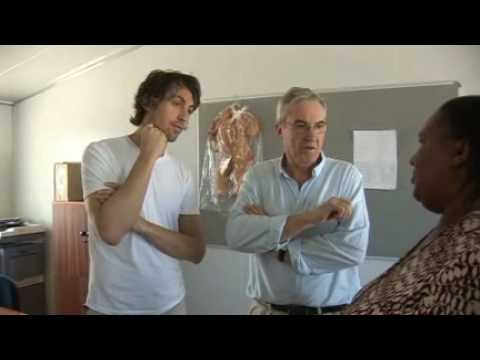 Larry Lamb and George Lamb in South Africa Part 2 - Red Nose Day 2009