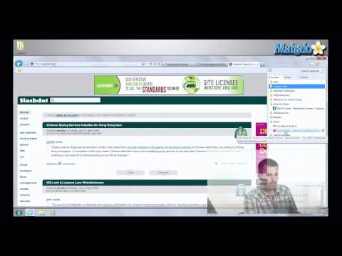 Favorite Management in Internet Explorer