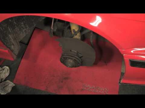 Replacing BMW/MINI Brake Rotors