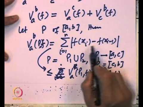 Mod-10 Lec-36 Fundamental Theorem of calculas for Lebesgue Integral-I