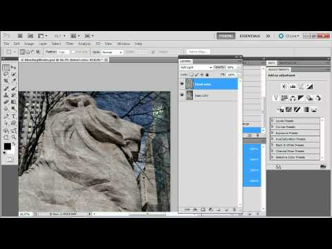 Adobe Photoshop CS5 Extended Advanced  LAYERS & MASKS Understanding Blending Modes