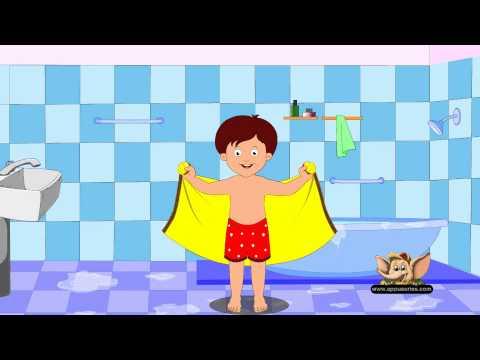 After A Bath - Nursery Rhyme