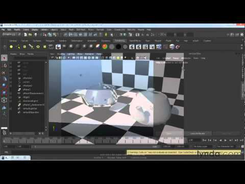 How to work with diffuse reflections in Maya | lynda.com overview