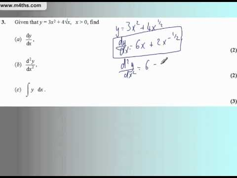 Core 1 Edexcel May 2007 (Q3 Quick worked solutions)