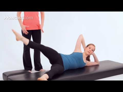 Advanced Pilates Mat Exercises: Side Kicks / Rond de Jambe