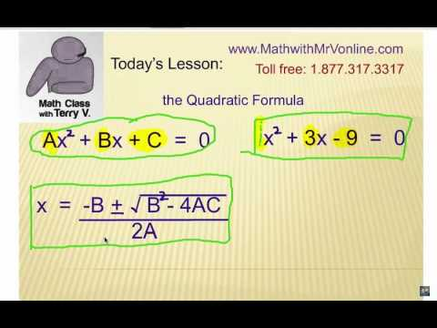 How to Solve Quadratic Equations: Self Quiz 2