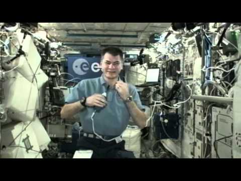 Nespoli Discusses ISS Mission with European, Italian Space Officials