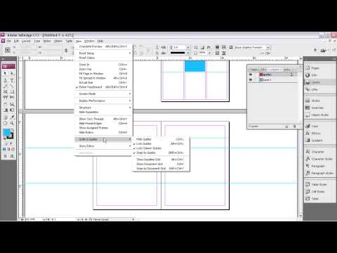 Adobe® InDesign® CS3  USING GUIDES & GRIDS    Using Advanced Guide Techniques