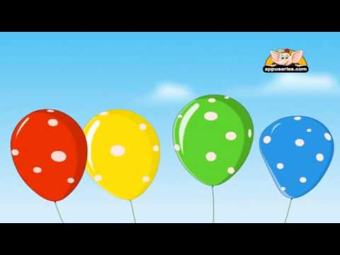 Nursery Rhyme - Pretty Balloons
