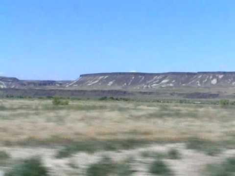 Lava caprock in Idaho