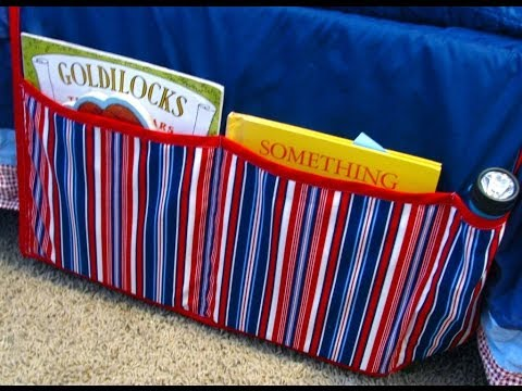 Bedside Book Caddy Tutorial