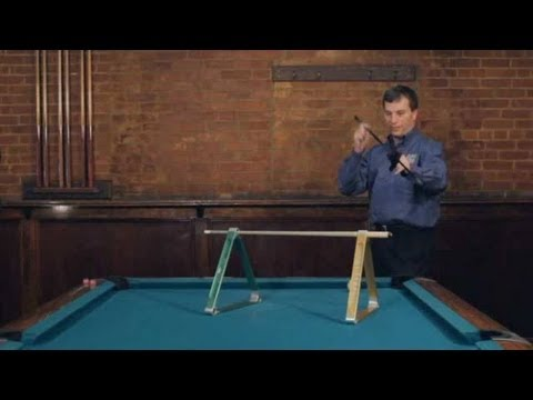 Pool Trick Shots / TV Shots: High Bar
