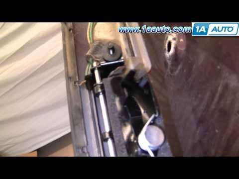 How To Install Replace Tailgate or Rear Hatch Handle Toyota Sienna 98-03 1AAuto.com