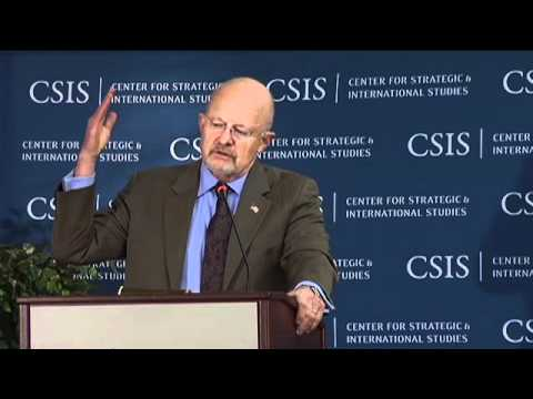 Information Sharing: Keynote Speaker James Clapper