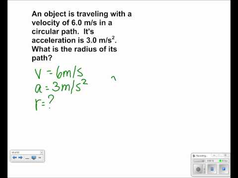 Uniform Circular Motion Presentation #21