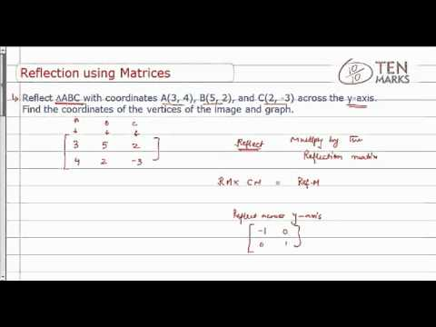 Reflection Using Matrices