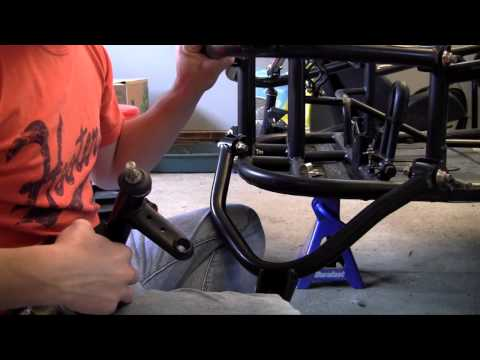 How to Build a Go Kart - 5 - Front Suspension