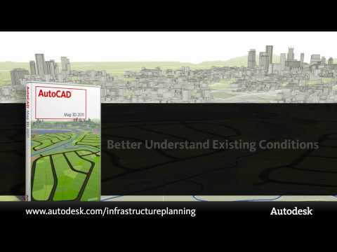 Infrastructure Planning with AutoCAD Map 3D