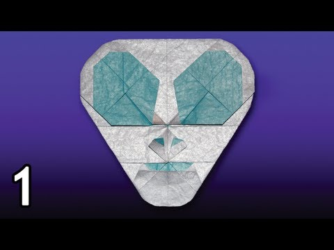 Origami Spaceman by Quentin Trollip (Folding Instructions) ~Part One~