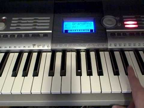 How to play What I've Done By Linkin Park on Piano