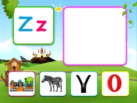 phonics alphabet Z sounds for children Z