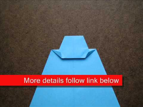 How to Fold Origami Tie - OrigamiInstruction.com