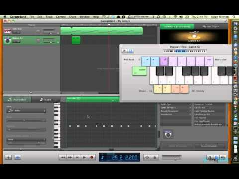 GarageBand Tutorial 2 - Bass Drum and Effects