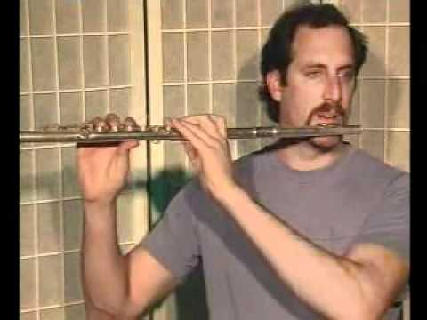 Flute Lesson & Song Demo - Danman Notation Library #9 Nearer My God To Thee
