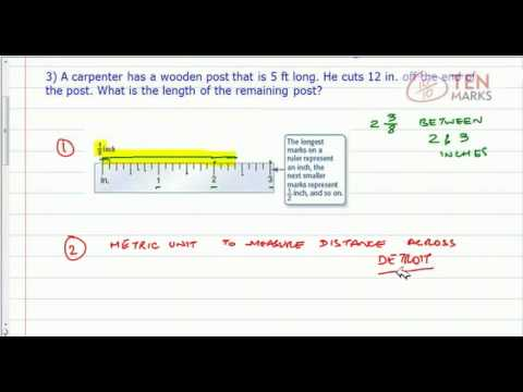 Length in Customary Units - Applications