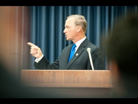 Rep. Randy Forbes discusses Defense Spending and the Super Committee