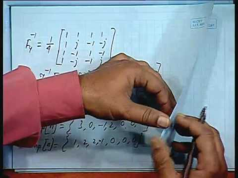 Lec-11 Discrete Fourier  Transform(DFT) Contd...