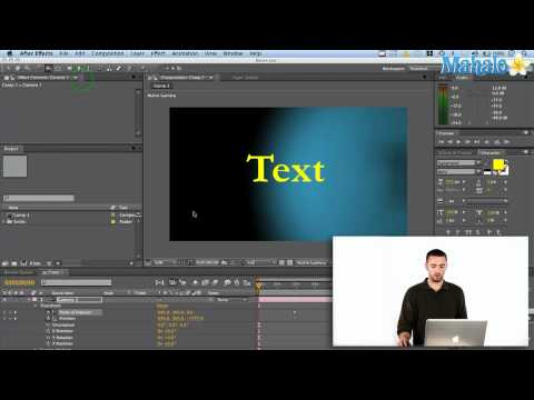 How to Use Cameras In Adobe After Effects