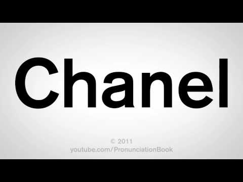 How To Pronounce Chanel