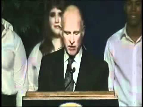 California Governor Jerry Brown's Inauguration Address: Jan. 3, 2011 - Part 2