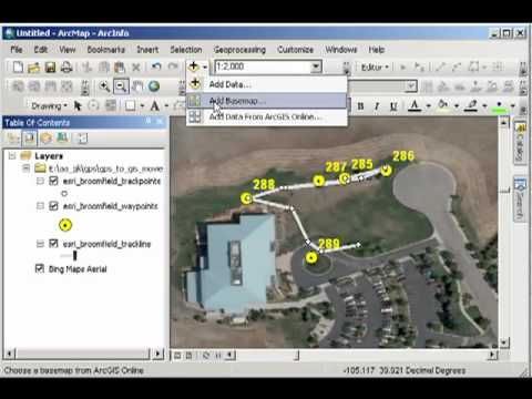 GPS to GIS: Mapping Field Data with ArcGIS Desktop 10