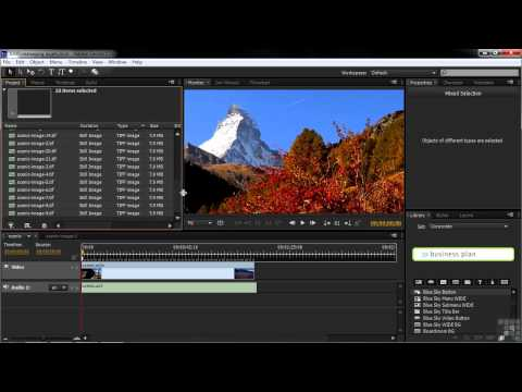 Adobe Encore CS6 Tutorial | Managing Assets | InfiniteSkills