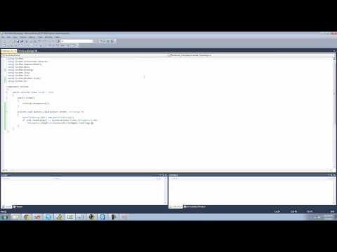 C# Beginners Tutorial - 60 - File Class pt 1