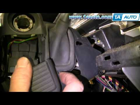 How To Install Replace Turn Signal Wiper Cruise Switch Chevy Venture Montana 97-05 Part 2 1AAuto.com
